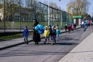 Niebieska Kalwaria - obchody Światowego Dnia Świadomości Autyzmu w Kalwarii - 2 kwietnia 2019 r. Kalwaria Zebrzydowska - fot. Andrzej Famielec IMGP5157