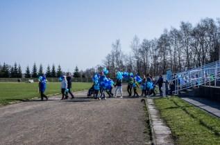 Niebieska Kalwaria - obchody Światowego Dnia Świadomości Autyzmu w Kalwarii - 2 kwietnia 2019 r. Kalwaria Zebrzydowska - fot. Andrzej Famielec IMGP5161