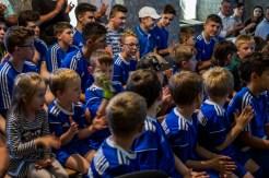 Oficjalnego otwarcia nowej infrastruktury rekreacyjnej w budynku klubowym WKS Żarek w Barwałdzie Górnym - 27 maja 2019 r. - fot. Andrzej Famielec IMGP8399_