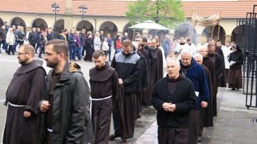 Rozpoczęcie nabożeństw majowych w Kalwaryjskim Sanktuarium - 30 kwietnia 2019 r. - fot. Sanktuarium Pasyjno-Maryjne w Kalwarii Zebrzydowskiej