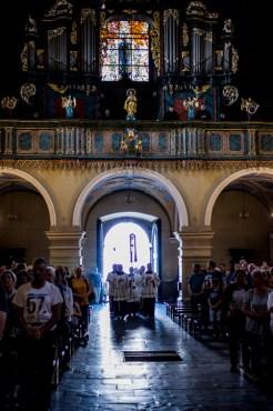 40 rocznica wizyty honorowego obywatela Kalwarii Zebrzydowskiej - Ojca Świętego Jana Pawła II - Uroczystości w Sanktuarium - 7 czerwca 2019 r. - fot. Andrzej Famielec IMGP9542