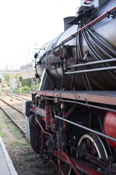 Pociąg retro - fot. Kalwaria 24