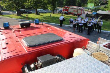 Samochód pożarniczy dla OSP Zebrzydowice - fot. UM w Kalwarii Zebrzydowskiej