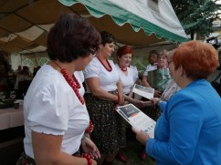 Ziemniak tani, smaczny, zdrowy - międzypokoleniowe spotkanie integracyjne w Lanckoronie - 18 lipca 2019 r. - fot. Starostwo Powiatowe w Wadowicach