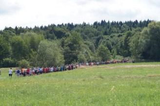 IV Bieg Lucka i wmurowanie kamienia węgielnego pod stadion w Skawinkach - 11 sierpnia 2019 r. - fot. UG w Lanckoronie