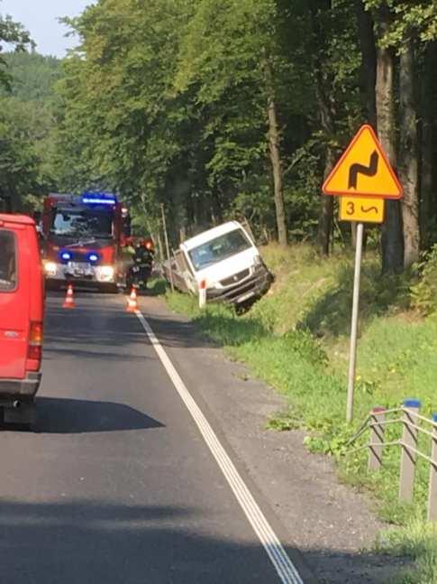 Wypadek na Solcy - fot. Facebook |Patrole, Wypadki, Suszarki Wadowice/Kalwaria/Andrychów-Okolice | Mateusz