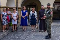 Uroczystości przeddzień 75. rocznicy Powstania Warszawskiego - 31 lipca 2019 r. Kalwaria Zebrzydowska IMGP2233