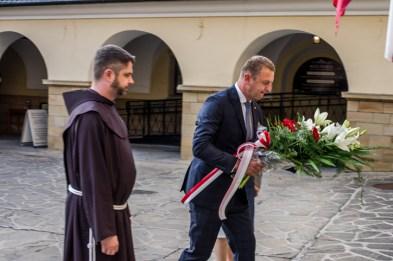 Uroczystości przeddzień 75. rocznicy Powstania Warszawskiego - 31 lipca 2019 r. Kalwaria Zebrzydowska IMGP2242