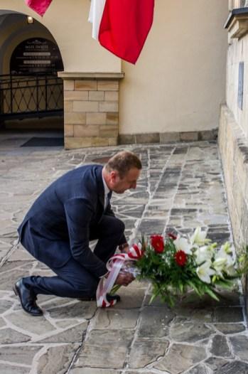 Uroczystości przeddzień 75. rocznicy Powstania Warszawskiego - 31 lipca 2019 r. Kalwaria Zebrzydowska IMGP2243