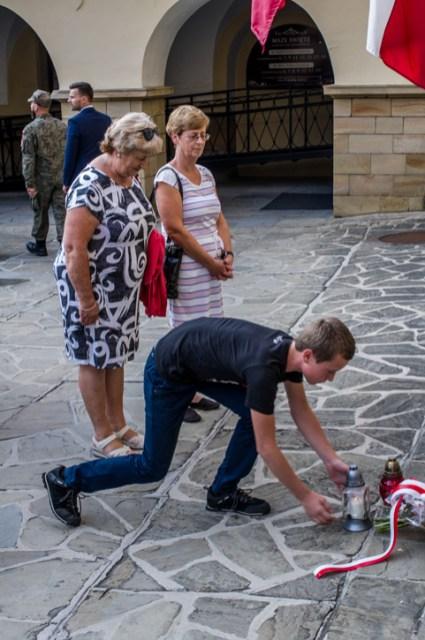 Uroczystości przeddzień 75. rocznicy Powstania Warszawskiego - 31 lipca 2019 r. Kalwaria Zebrzydowska IMGP2252
