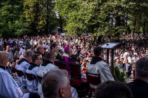 Uroczystości zaśnięcia NMP - Kalwaria Zebrzydowska - 16 sierpnia 2019 r. - fot. Andrzej Famielec - Kalwaria 24 IMGP3156