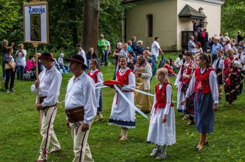 Uroczystości zaśnięcia NMP - Kalwaria Zebrzydowska - 16 sierpnia 2019 r. - fot. Andrzej Famielec - Kalwaria 24 IMGP3253