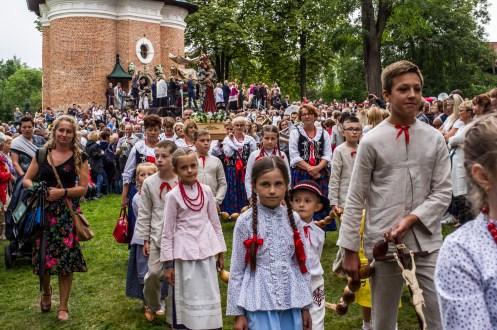 Uroczystości zaśnięcia NMP - Kalwaria Zebrzydowska - 16 sierpnia 2019 r. - fot. Andrzej Famielec - Kalwaria 24 IMGP3440