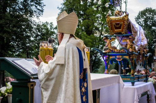 Uroczystości zaśnięcia NMP - Kalwaria Zebrzydowska - 16 sierpnia 2019 r. - fot. Andrzej Famielec - Kalwaria 24 IMGP3660