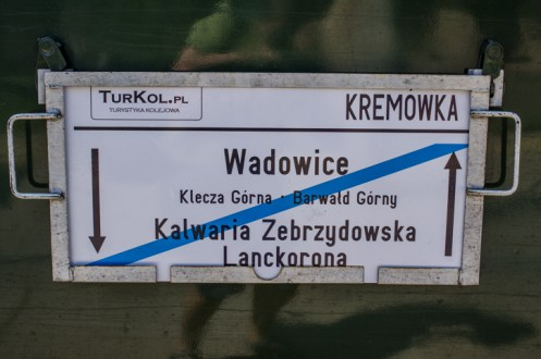 Wizyta pociągu retro w Kalwarii Zebrzydowskiej - 26 sierpnia 2019 r. - fot. Andrzej Famielec - Kalwaria 24 IMGP5138