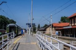 Wizyta pociągu retro w Kalwarii Zebrzydowskiej - 26 sierpnia 2019 r. - fot. Andrzej Famielec - Kalwaria 24 IMGP5146