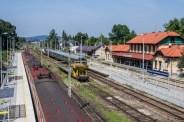 Wizyta pociągu retro w Kalwarii Zebrzydowskiej - 26 sierpnia 2019 r. - fot. Andrzej Famielec - Kalwaria 24 IMGP5147