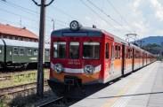 Wizyta pociągu retro w Kalwarii Zebrzydowskiej - 26 sierpnia 2019 r. - fot. Andrzej Famielec - Kalwaria 24 IMGP5154