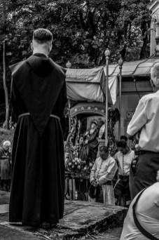 procesja Boleści NMP z bazyliki do Domku Matki Bożej - Kalwaria Zebrzydowska - 11 sierpnia 2019 r. - fot. Andrzej Famielec - Kalwaria 24 IMGP2734