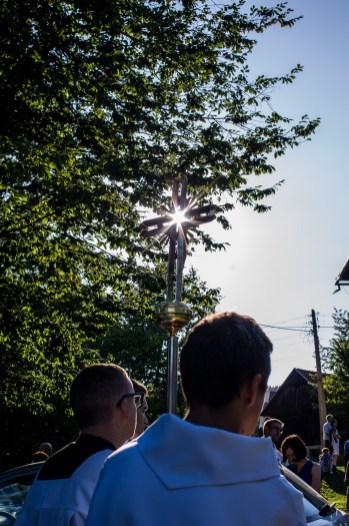 procesja Boleści NMP z bazyliki do Domku Matki Bożej - Kalwaria Zebrzydowska - 11 sierpnia 2019 r. - fot. Andrzej Famielec - Kalwaria 24 IMGP2920