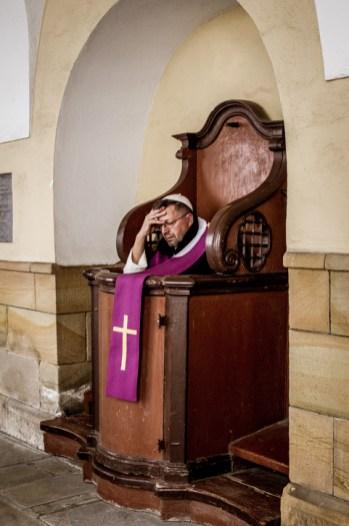 Pielgrzymka Rodzin Archidiecezji Krakowskiej do Sanktuarium Kalwaryjskiego - 8 września 2019 r. - fot. Andrzej Famielec - Kalwaria 24 IMGP5948