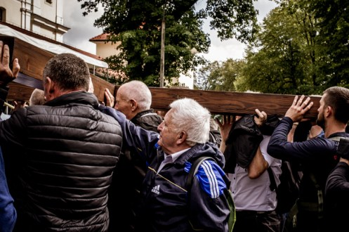 Pielgrzymka Rodzin Archidiecezji Krakowskiej do Sanktuarium Kalwaryjskiego - 8 września 2019 r. - fot. Andrzej Famielec - Kalwaria 24 IMGP5982
