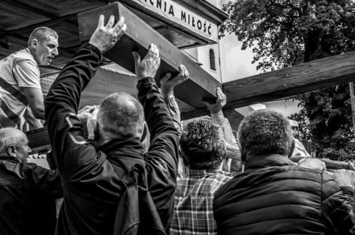 Pielgrzymka Rodzin Archidiecezji Krakowskiej do Sanktuarium Kalwaryjskiego - 8 września 2019 r. - fot. Andrzej Famielec - Kalwaria 24 IMGP5987