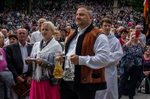 Pielgrzymka Rodzin Archidiecezji Krakowskiej do Sanktuarium Kalwaryjskiego - 8 września 2019 r. - fot. Andrzej Famielec - Kalwaria 24 IMGP6319