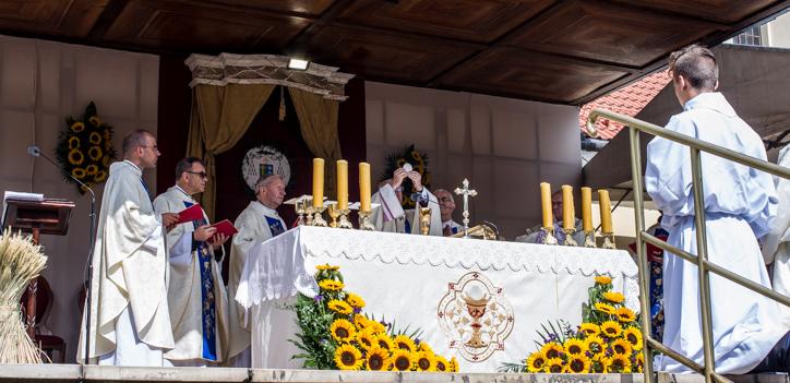 Pielgrzymka Rodzin Archidiecezji Krakowskiej do Sanktuarium Kalwaryjskiego - 8 września 2019 r. - fot. Andrzej Famielec - Kalwaria 24 IMGP6338
