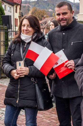 Obchody Święta Niepodległości 11 listopada 2019 r. - fot. Andrzej Famielec - Kalwaria 24 IMGP0014
