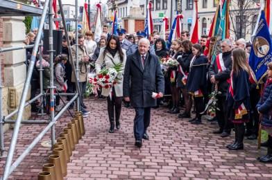 Obchody Święta Niepodległości 11 listopada 2019 r. - fot. Andrzej Famielec - Kalwaria 24 IMGP9912