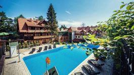 Trzygwiazdkowy hotel Modrzewiówka