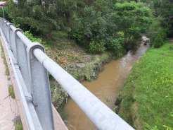 Rekonesans terenowy (3.07) po powodzi błyskawicznej w Gminie Kalwaria Zebrzydowska w dniu 2 lipca 2020 r.