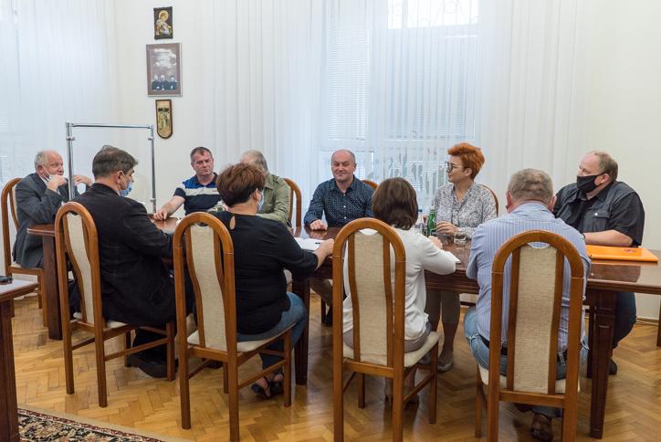 Spotkanie z Wodami Polskimi w kalwaryjskim magistracie - 21 lipca 2020 r. - fot. Andrzej Famielec | Kalwaria 24