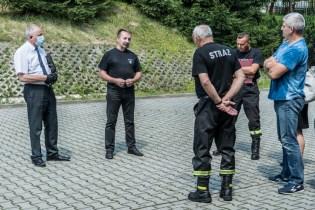 Rekonesans terenowy jednostek OSP - 27 lipca 2020 r. - fot. Andrzej Famielec - Kalwaria 24 -02313