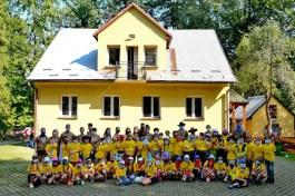 """Harcerska Baza Obozowa """"Zalesie"""" w Stryszowie - fot. Hufiec Ziemi Wadowickiej ZHP"""