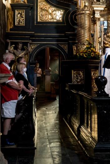 Odpust Matki Bożej Anielskiej - 1 sierpnia 2020 r. Sanktuarium Pasyjno Maryjne w Kalwarii Zebrzydowskiej - fot. Andrzej Famielec - Kalwaria 24 -02570