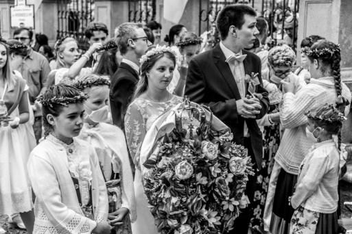 Procesja Wniebowzięcia NMP - 16 sierpnia 2020 r. - fot. Andrzej Famielec - Kalwaria 24-04489