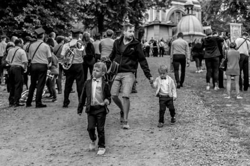 Procesja Wniebowzięcia NMP - 16 sierpnia 2020 r. - fot. Andrzej Famielec - Kalwaria 24-04549