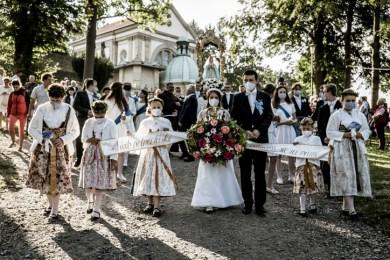 Procesja Wniebowzięcia NMP - 16 sierpnia 2020 r. - fot. Andrzej Famielec - Kalwaria 24-04636