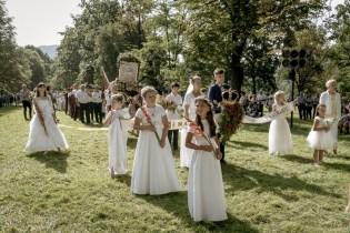 Procesja Wniebowzięcia NMP - 16 sierpnia 2020 r. - fot. Andrzej Famielec - Kalwaria 24-04963