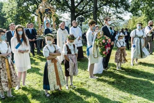 Procesja Wniebowzięcia NMP - 16 sierpnia 2020 r. - fot. Andrzej Famielec - Kalwaria 24-04998