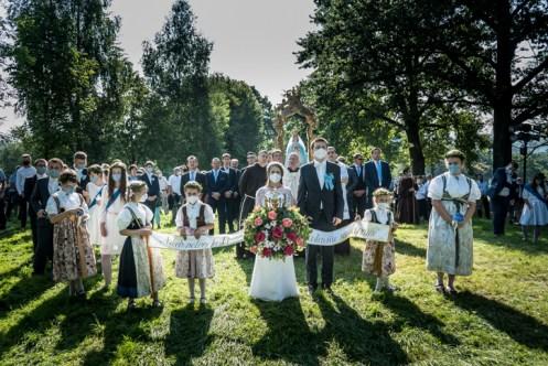 Procesja Wniebowzięcia NMP - 16 sierpnia 2020 r. - fot. Andrzej Famielec - Kalwaria 24-05010