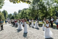 Procesja Wniebowzięcia NMP - 16 sierpnia 2020 r. - fot. Andrzej Famielec - Kalwaria 24-05066