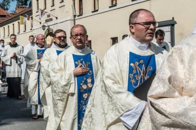 Procesja Wniebowzięcia NMP - 16 sierpnia 2020 r. - fot. Andrzej Famielec - Kalwaria 24-05134