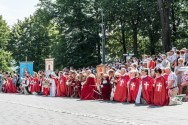 Procesja Wniebowzięcia NMP - 16 sierpnia 2020 r. - fot. Andrzej Famielec - Kalwaria 24-05188