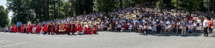 Procesja Wniebowzięcia NMP - 16 sierpnia 2020 r. - fot. Andrzej Famielec - Kalwaria 24-05192