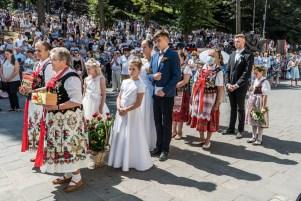 Procesja Wniebowzięcia NMP - 16 sierpnia 2020 r. - fot. Andrzej Famielec - Kalwaria 24-05238