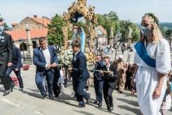 Procesja Wniebowzięcia NMP - 16 sierpnia 2020 r. - fot. Andrzej Famielec - Kalwaria 24-05391