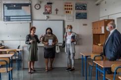 Rekonesans szkół podstawowych - 27 sierpnia 2020 r. - fot. Andrzej Famielec - Kalwaria 24-06037